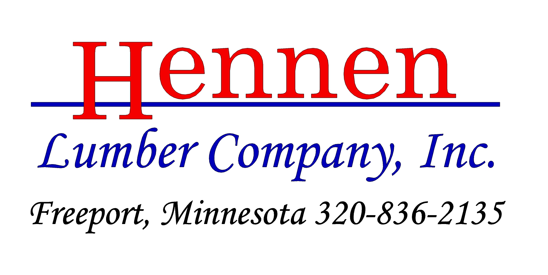 Hennen Lumber Co Inc
